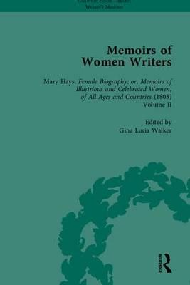 Memoirs of Women Writers, Part II (set)