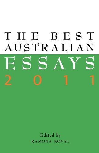 The Best AustralianEssays2011