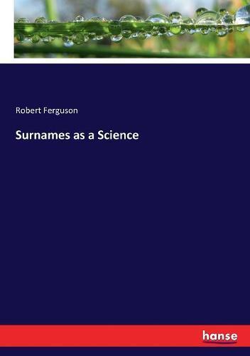 Surnames asaScience