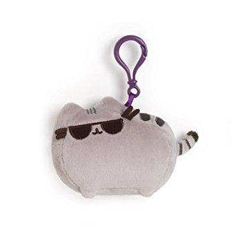Pusheen with Sunglasses (Backpack Clip)