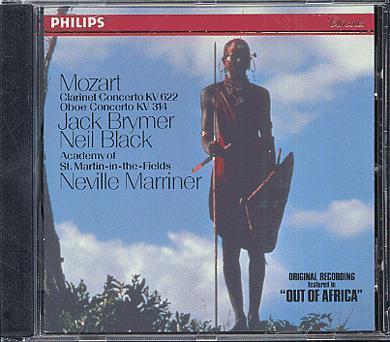 Mozart Clarinet Concerto OboeConcerto