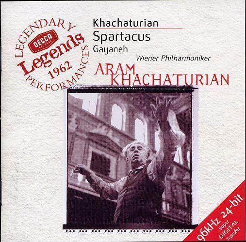 Khachaturian Spartacus GayanehGlazunovSeasons