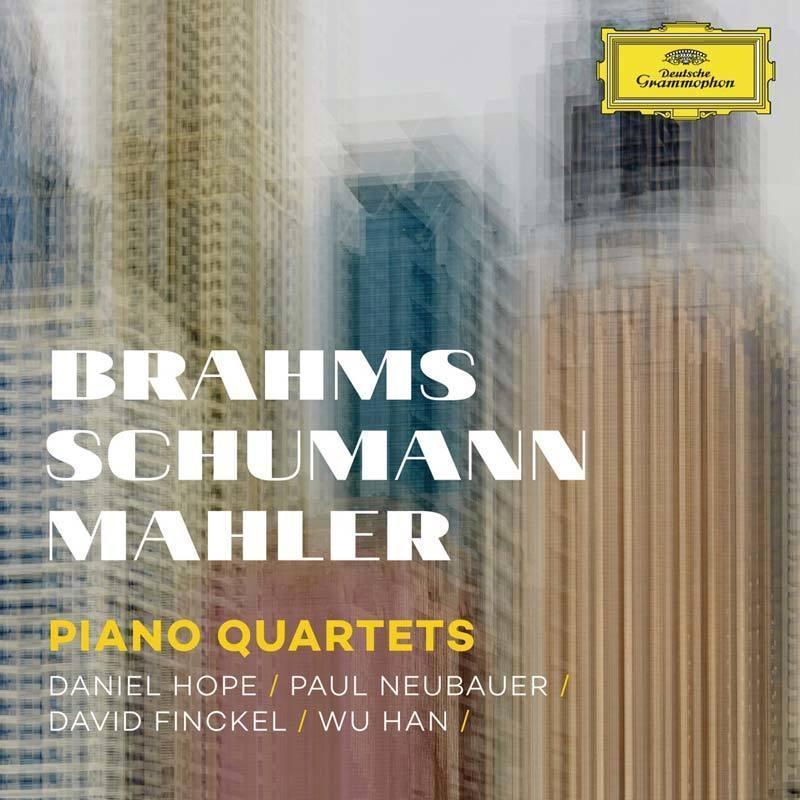 Brahms, Schumann, Mahler:PianoQuartets