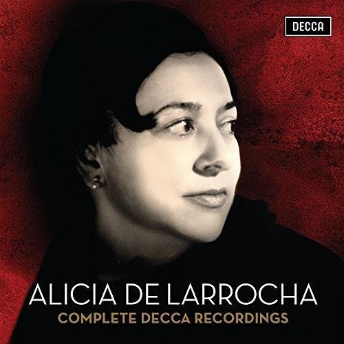 Alicia de Larrocha: Complete Decca Recordings(41CDs)