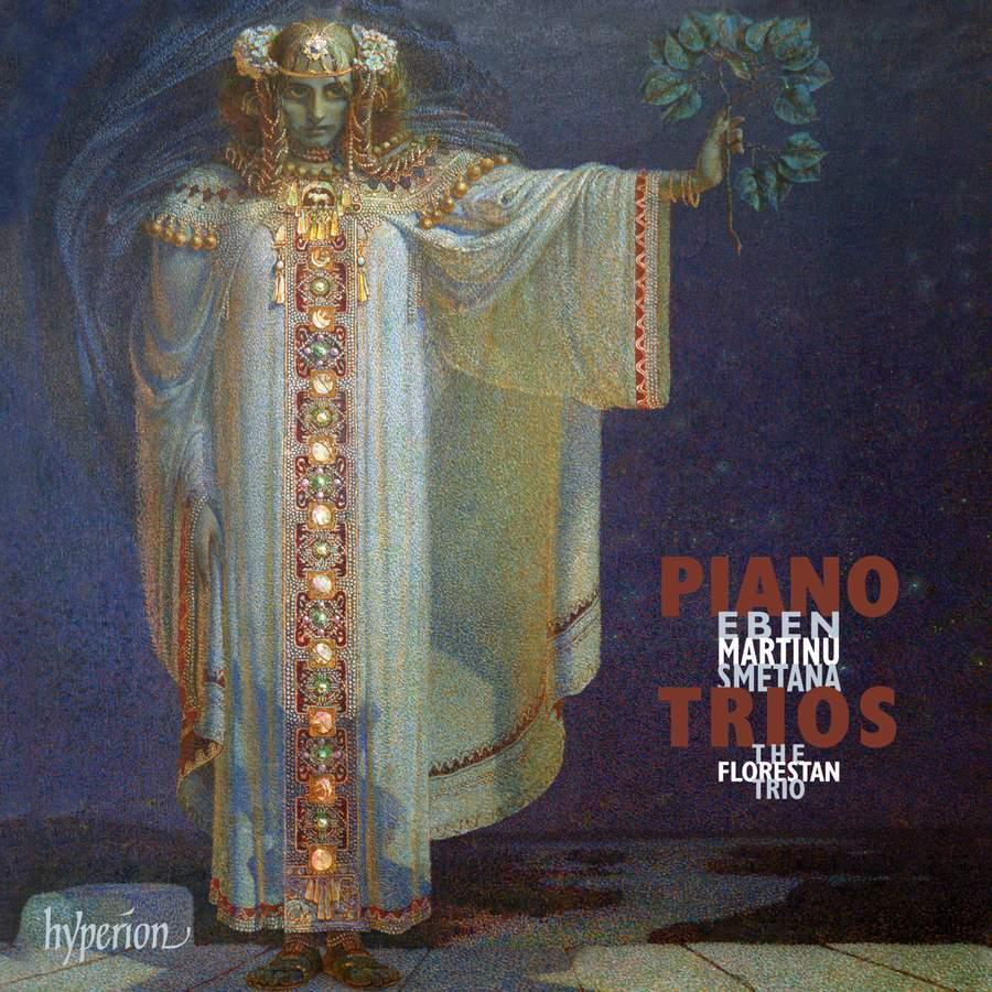 Piano Trios: Smetana, Martinu & Eben