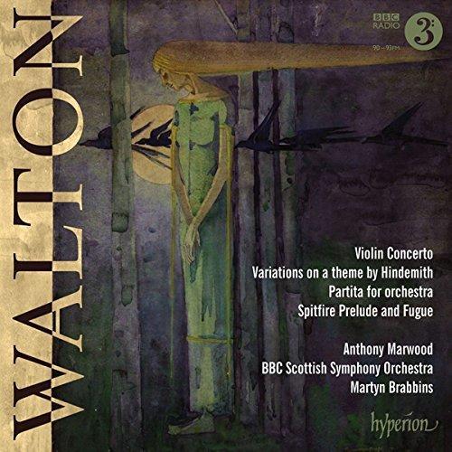 Walton: Violin Concerto, Partita,HindemithVariations