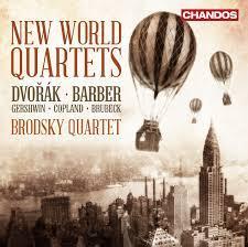 New World Quartets By Dvorak Barber CoplandGershwinBrubeck