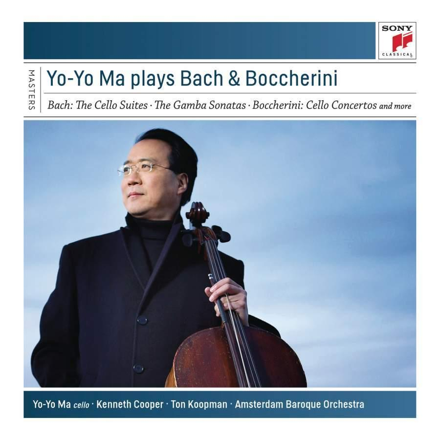 Yo Yo Ma plays Bach and Boccherini (6 CDs)