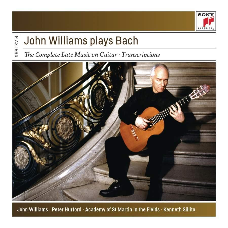 John Williams plays Bach (4 CDs)