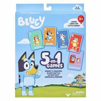 Bluey 5 In 1 Games