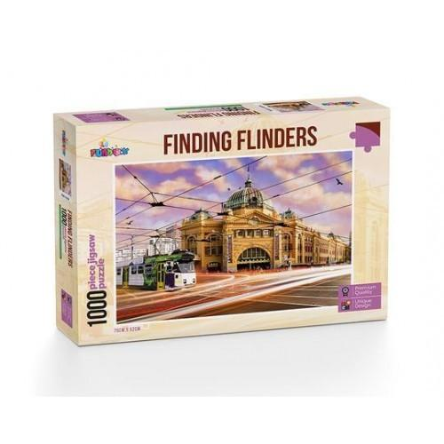 Finding Flinders Street Melbourne Jigsaw Puzzle(1000pieces)