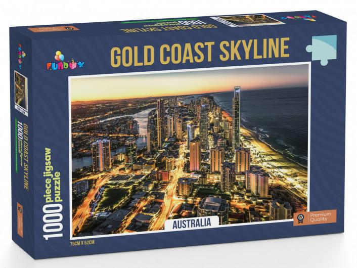 Gold Coast Skyline Jigsaw Puzzle (1000 pieces)
