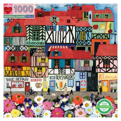 Whimsical Village Jigsaw Puzzle (1000 Pieces)
