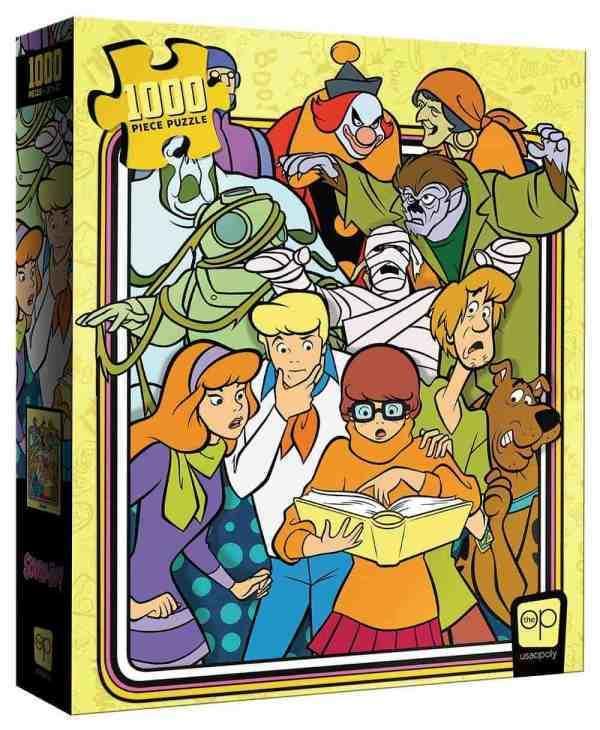 Scooby Doo Those Meddling Kids 1000 PieceJigsawPuzzle