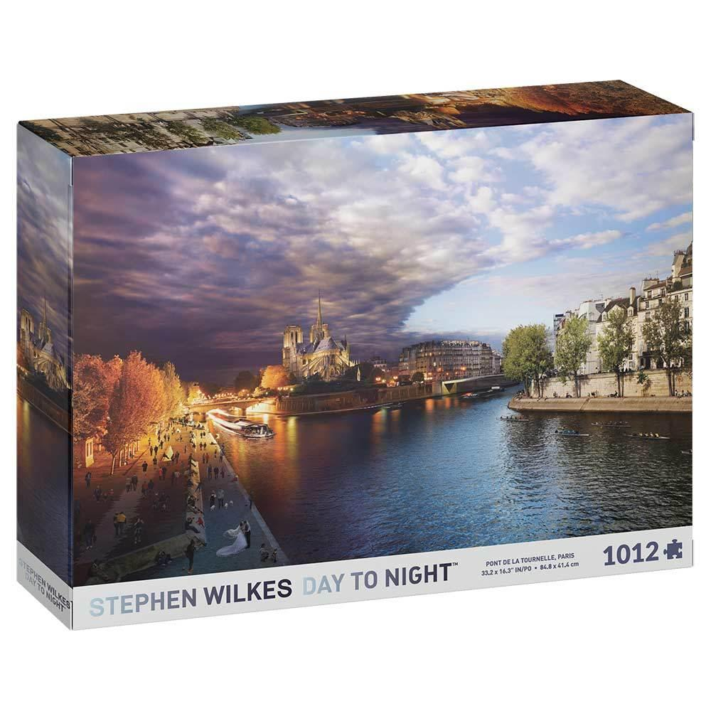 Stephen Wilkes Day to Night Paris Jigsaw Puzzle (1000 pieces)