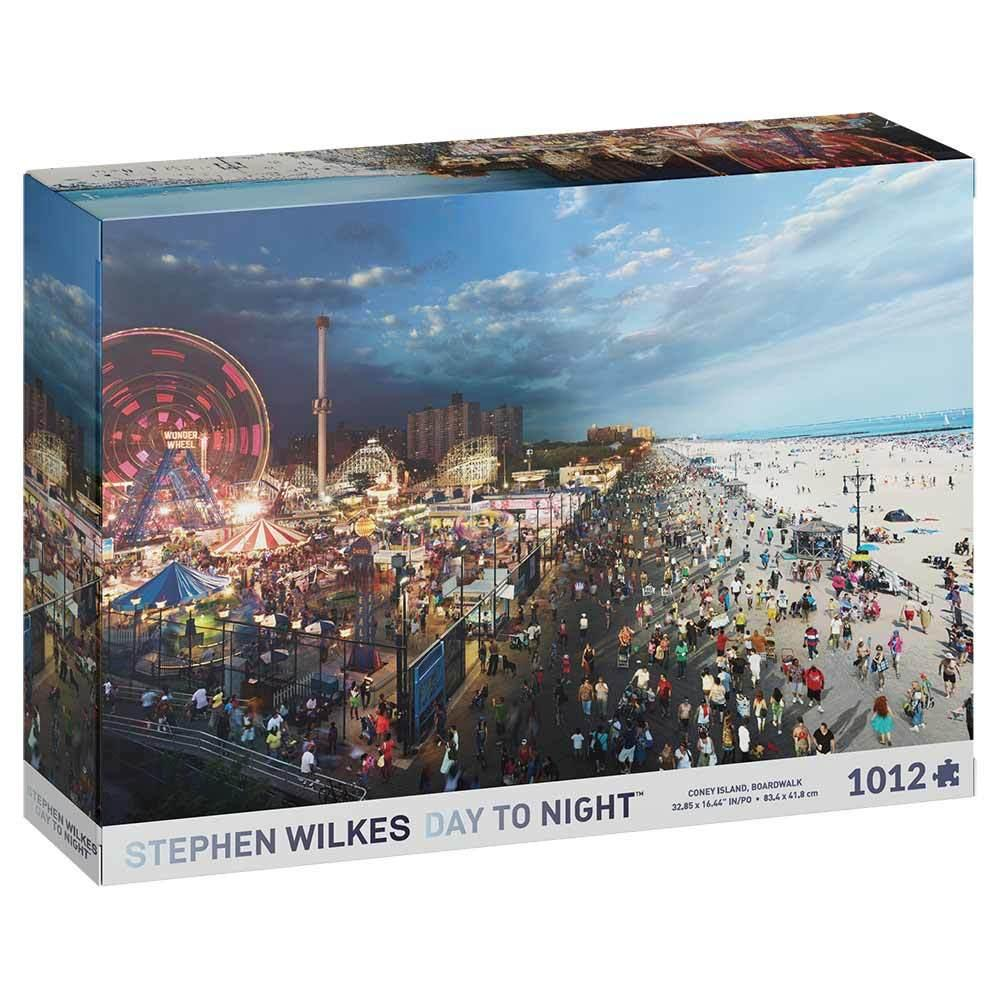 Stephen Wilkes Day to Night Coney Island New York Jigsaw Puzzle (1000 pieces)