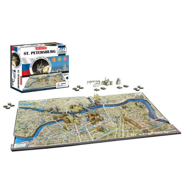 St Petersburg 4d Cityscape 1245PcePuzzle