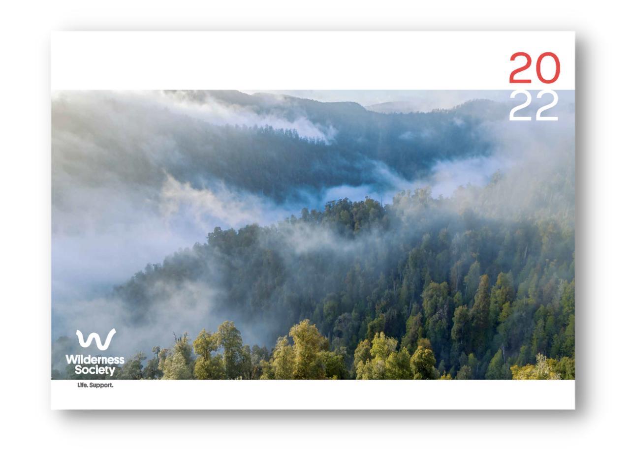 Wilderness Society 2022 Calendar