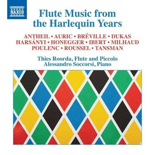 Flute Music From TheHarlequinYears
