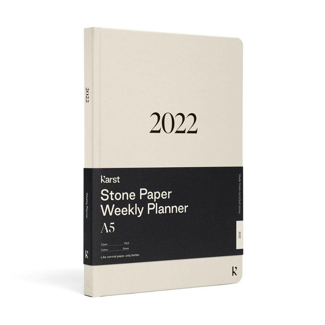 Karst A5 Stone Paper 2022 Weekly Planner Diary
