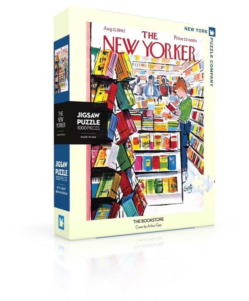 New Yorker Jigsaw Puzzle: The Bookstore Cover(1000pieces)