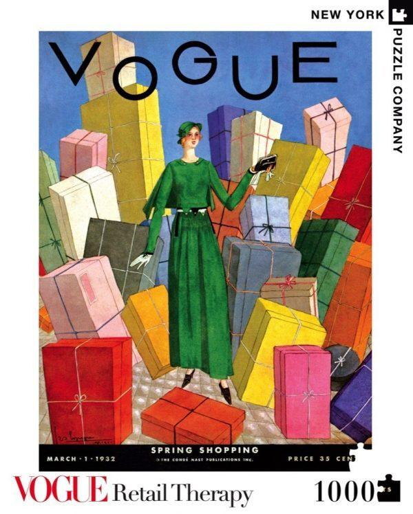 New Yorker Jigsaw Puzzle: Vogue Retail Therapy(1000Pieces)