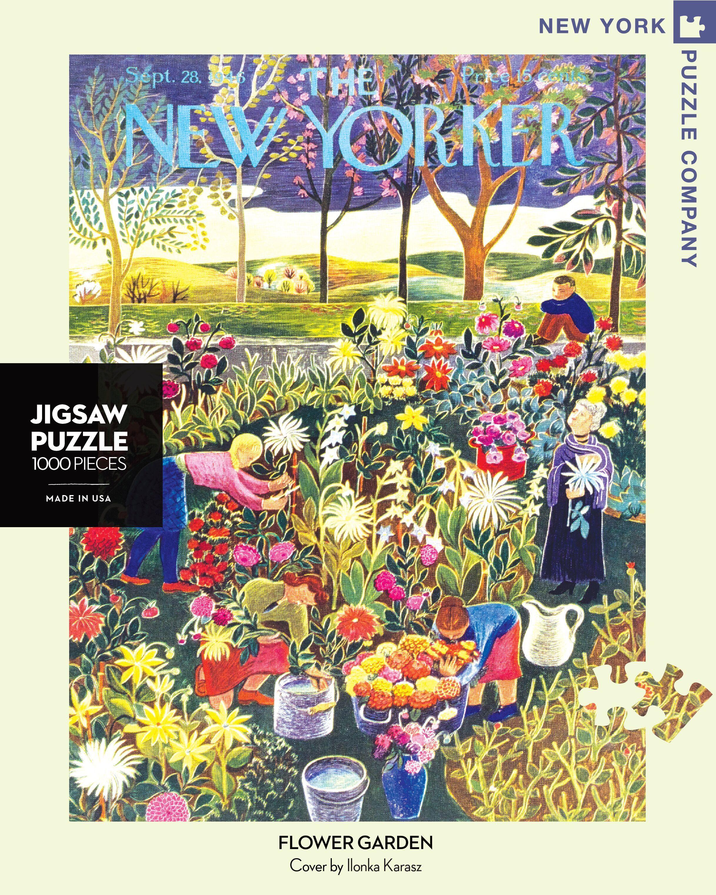 Flower Garden 1000PcePuzzle