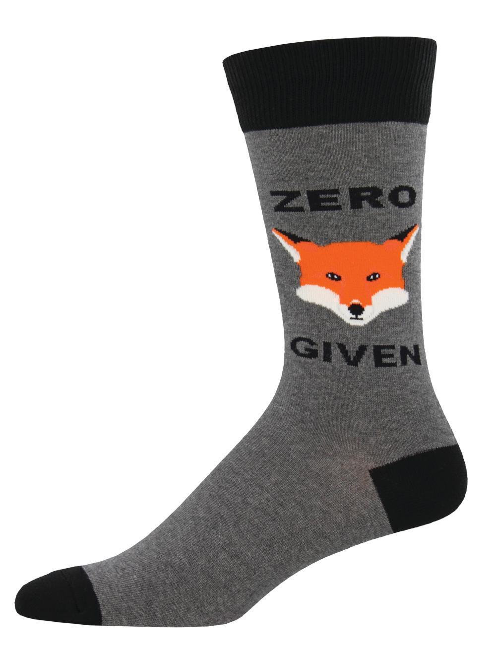 Mens Socks - Zero Fox Given(Size10-13)