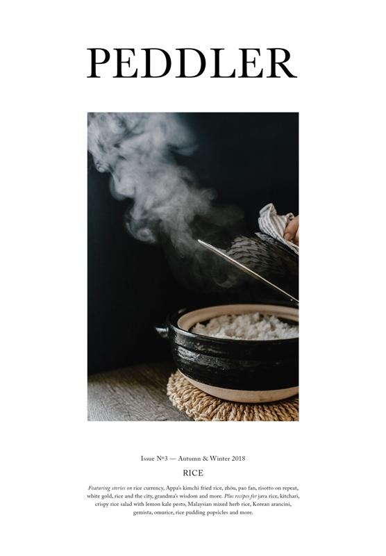 Peddler Issue Three: Rice (Autumn & Winter 2018)