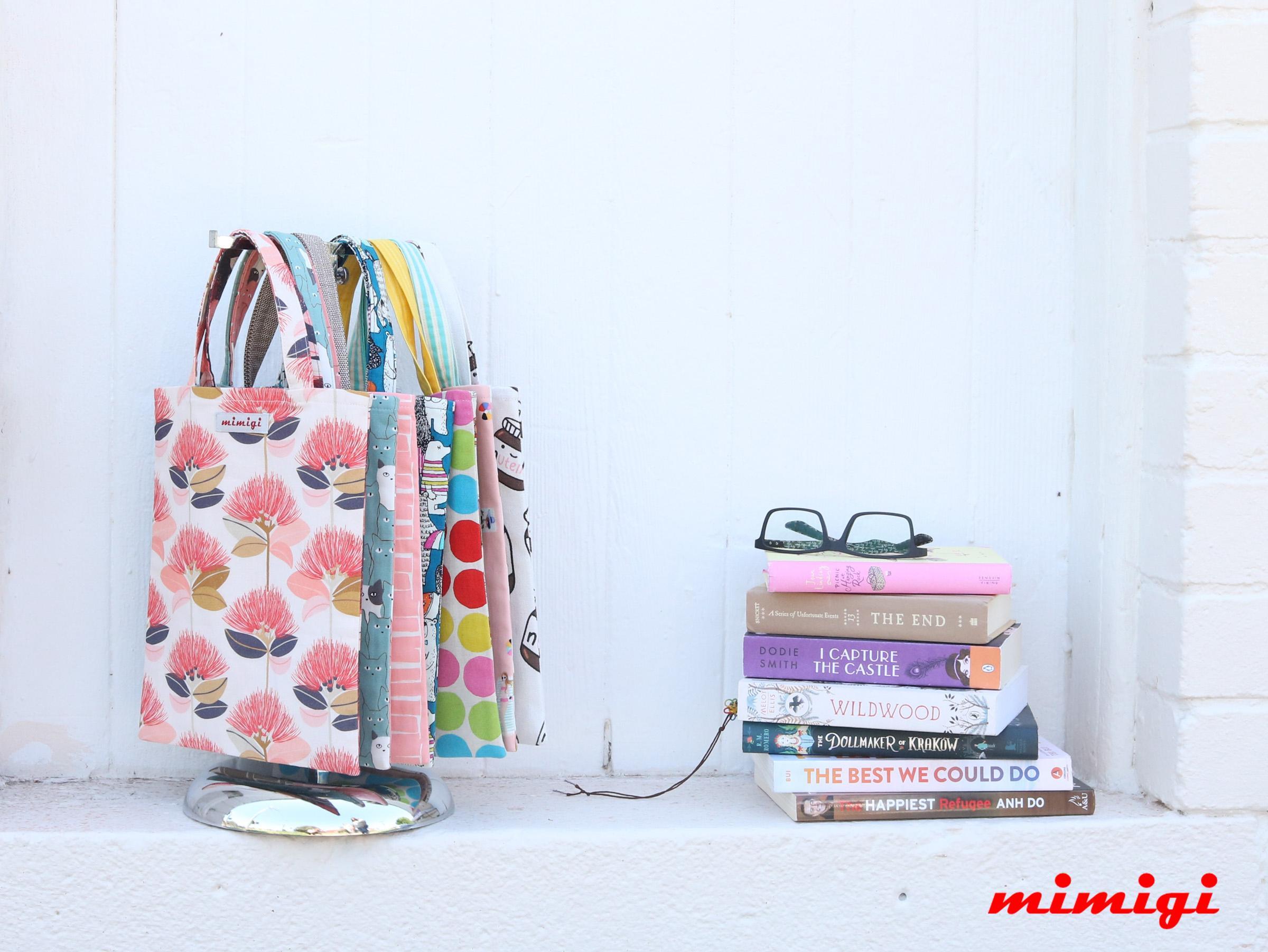 Mimigi Small Book Totes