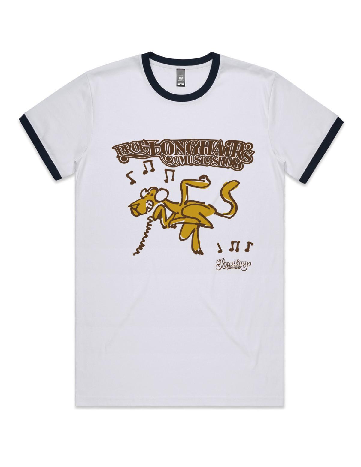 Professor Longhair Ringer T-Shirt(Small,Unisex)