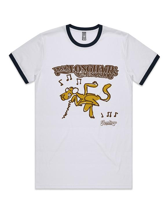 Professor Longhair Ringer T-Shirt (Medium, Unisex)