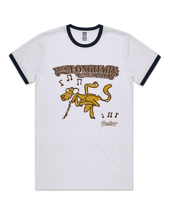 Professor Longhair Ringer T-Sshirt(Large,Unisex)