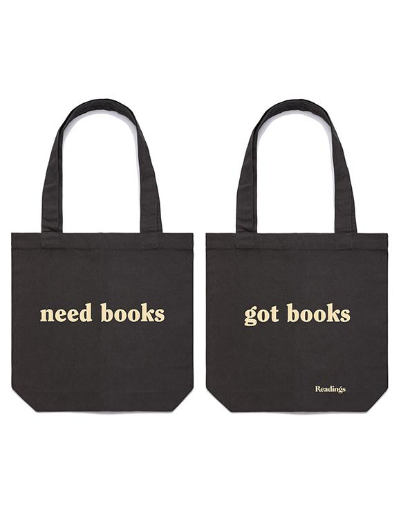 Need Books Got BooksToteBag