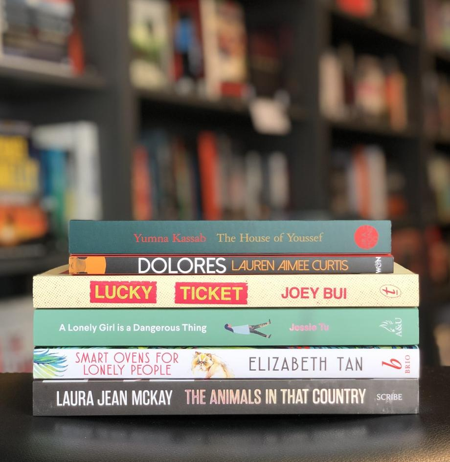 The Readings Prize for New Australian Fiction 2020 Shortlist Pack