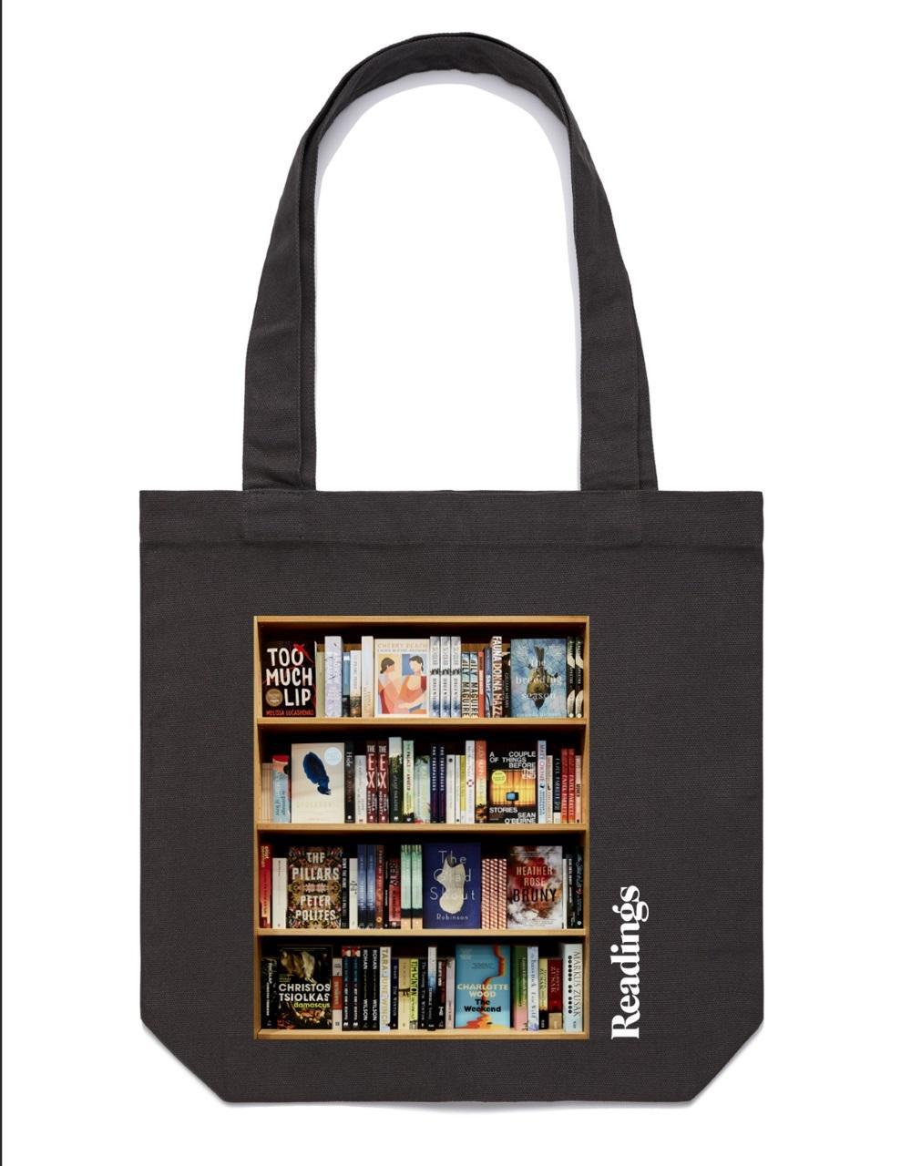 Readings BookshelfToteBag