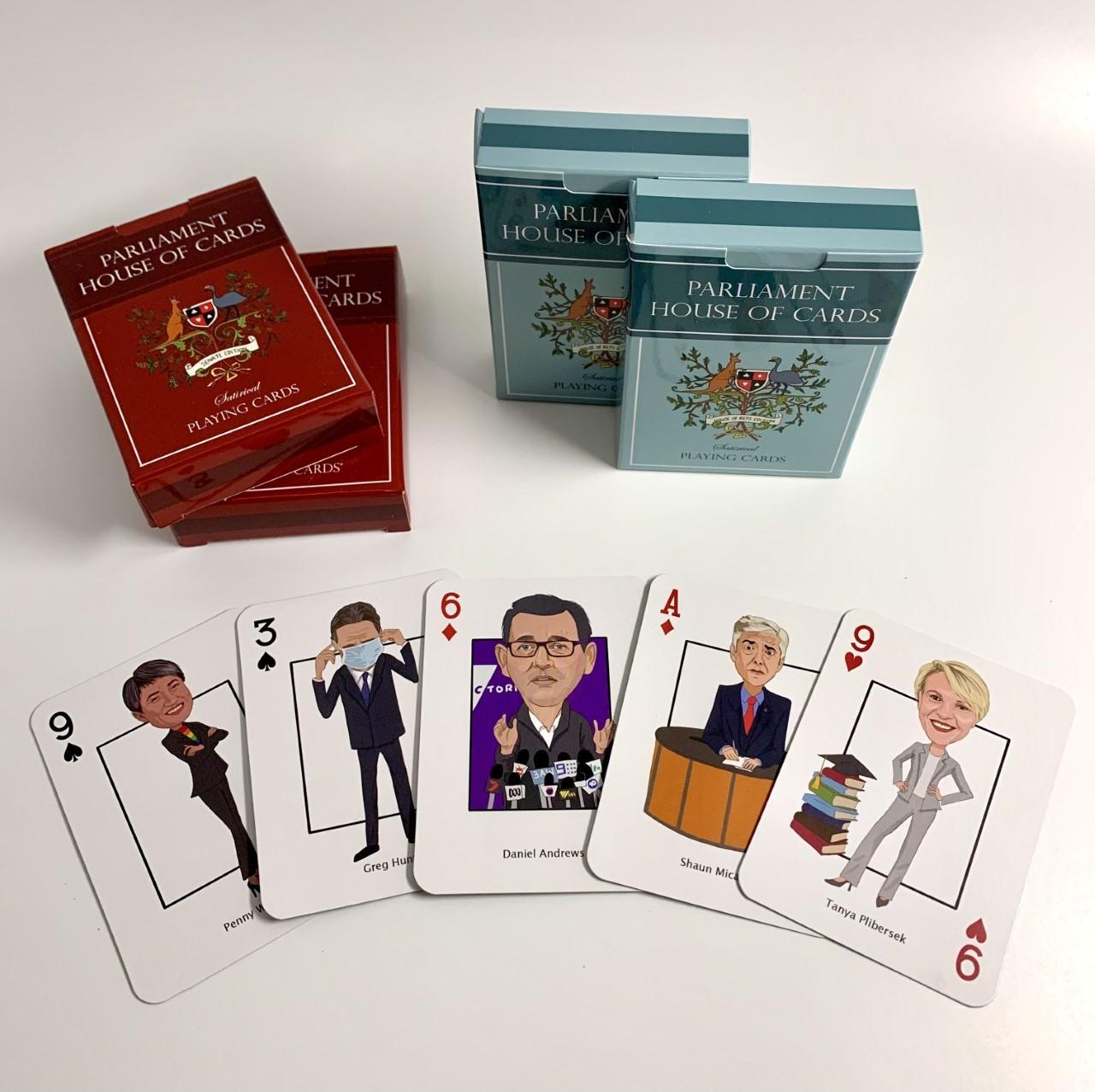 Parliament House Of Cards Playing Cards