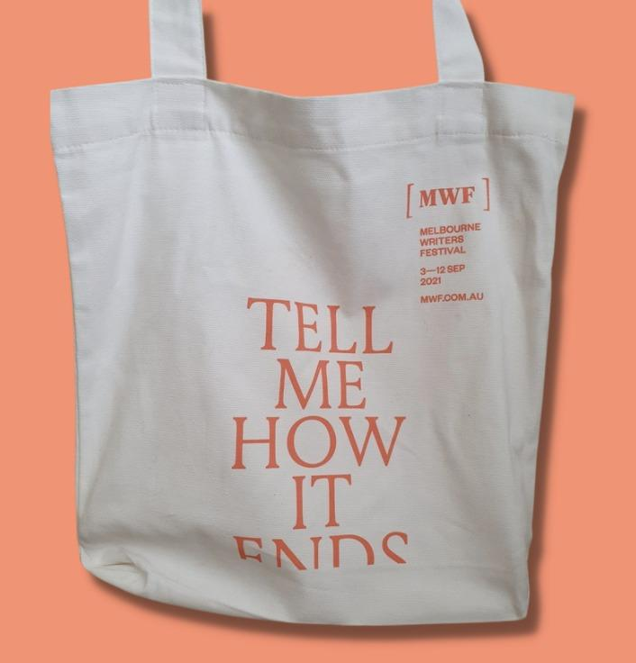 Melbourne Writers Festival Tote Bag White