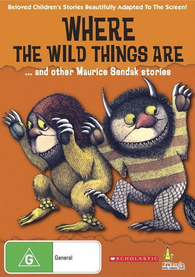 Where The Wild Things Are And Other Sendak Stories Dvd