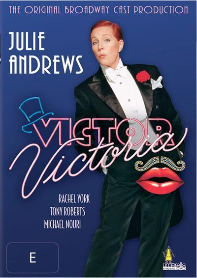 Victor Victoria Original Broadway Cast Production Dvd