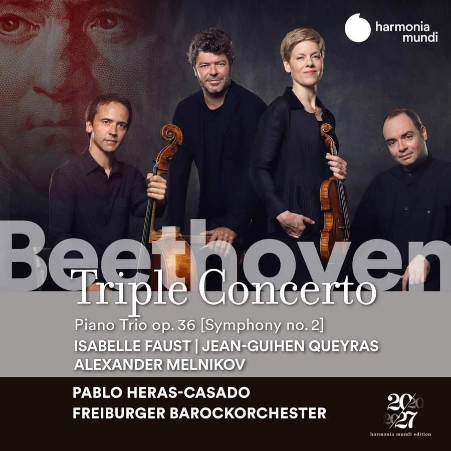 Beethoven: Triple Concerto & Piano Trio Op. 36 (SymphonyNo.2)