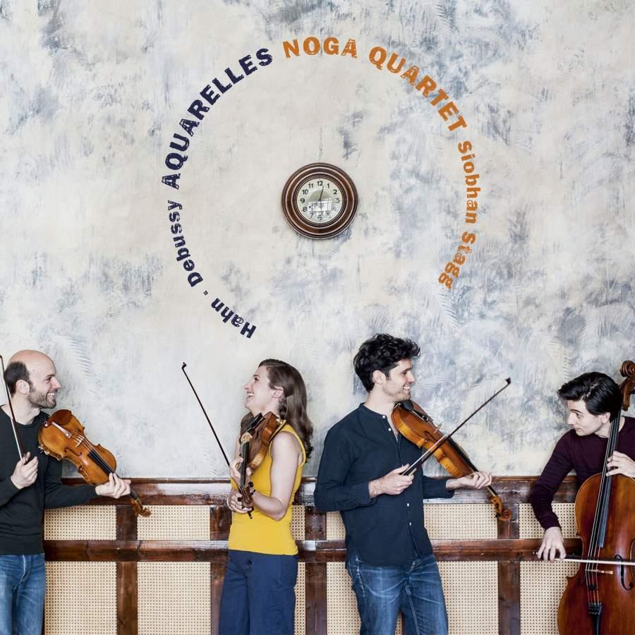 Aquarelles: Debussy & Hahn