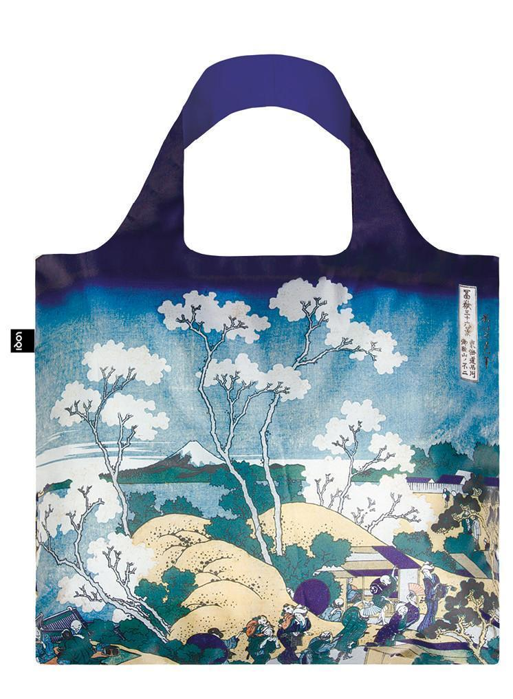 Loqi Shopping Bag Hokusai Fuji