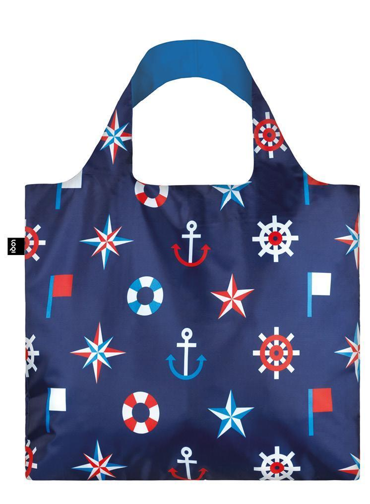 Loqi Shopping Bag Classic Nautical Collection