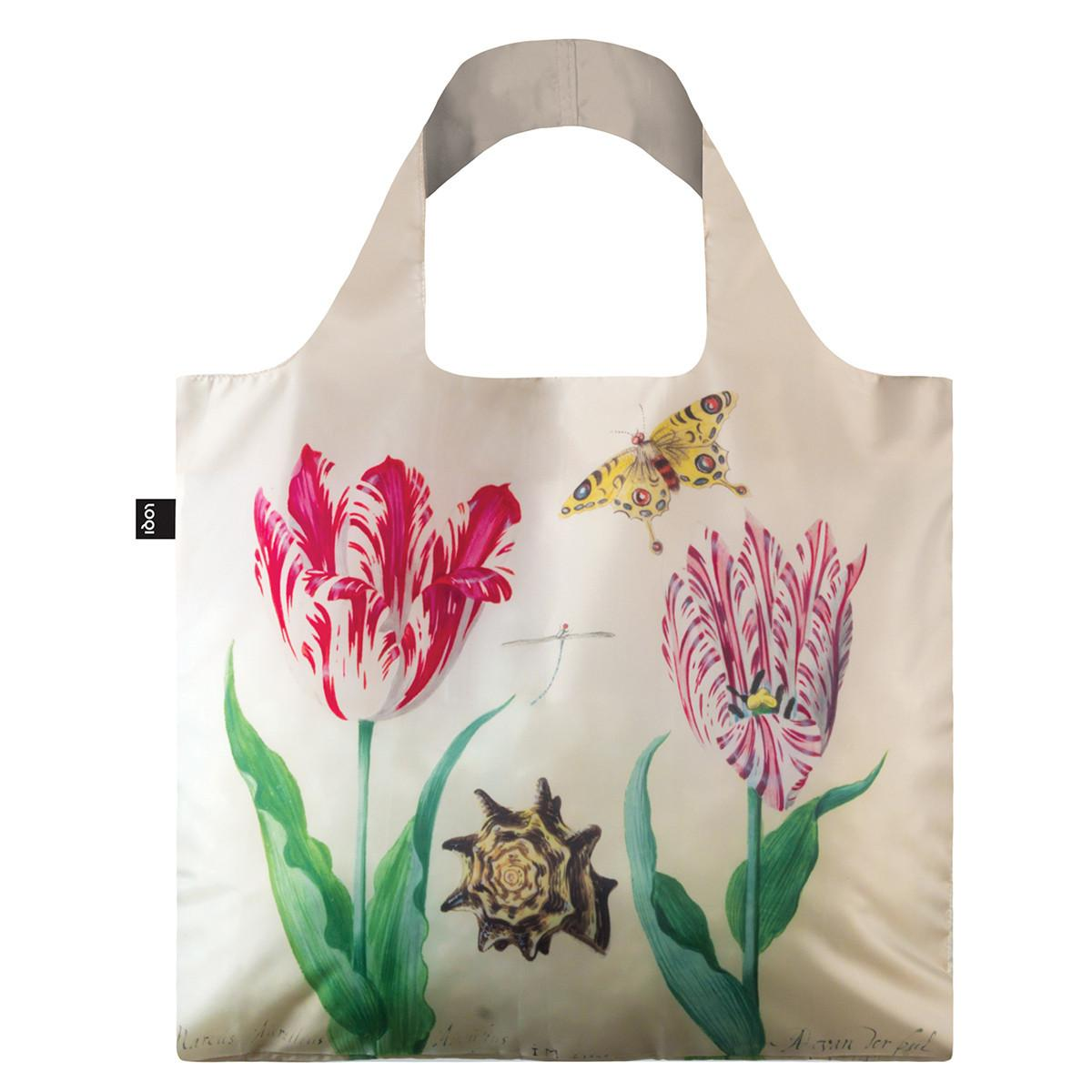 LOQI Shopping Bag: Museum Collection -TwoTulips