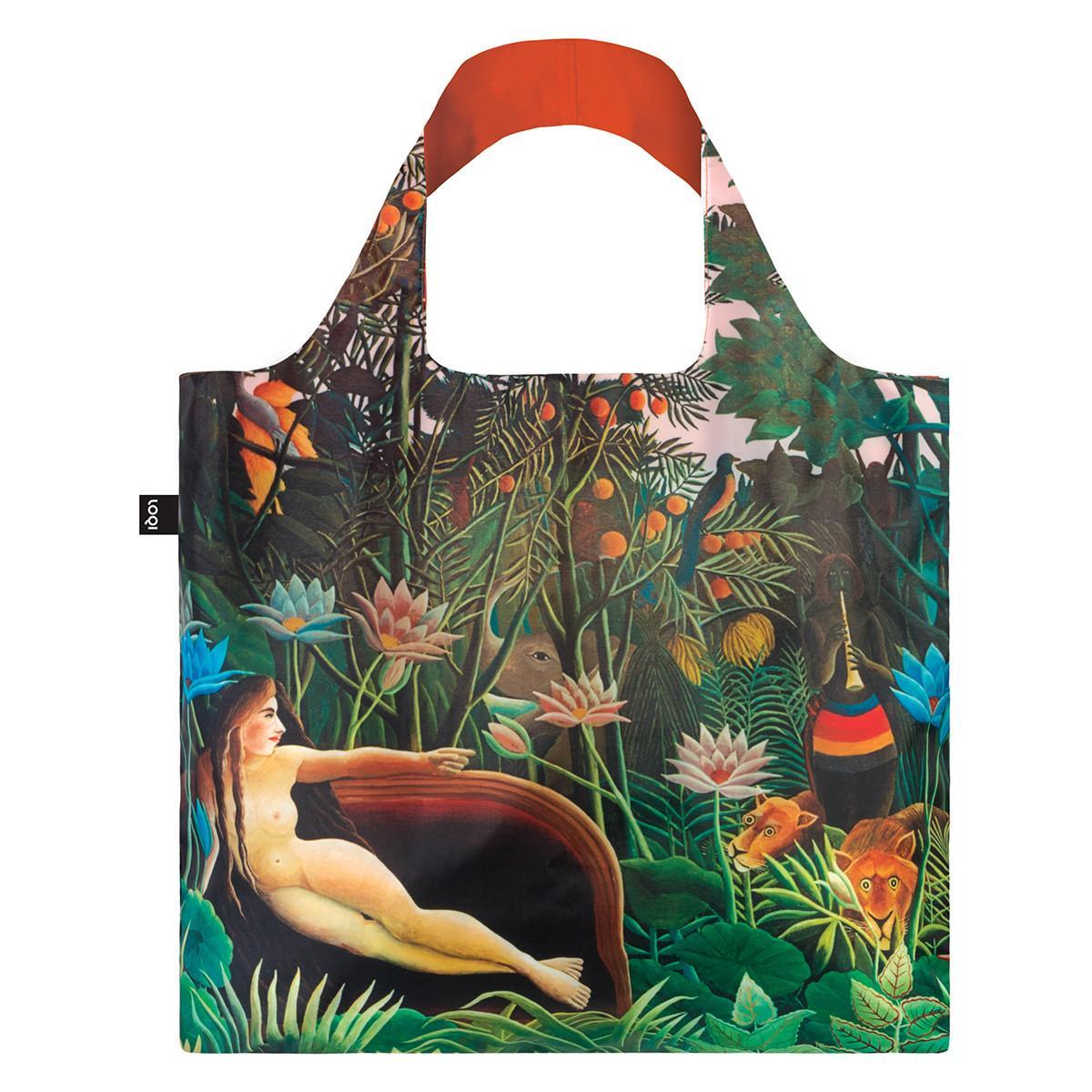 LOQI Shopping Bag: Museum Collection -HenriRousseau