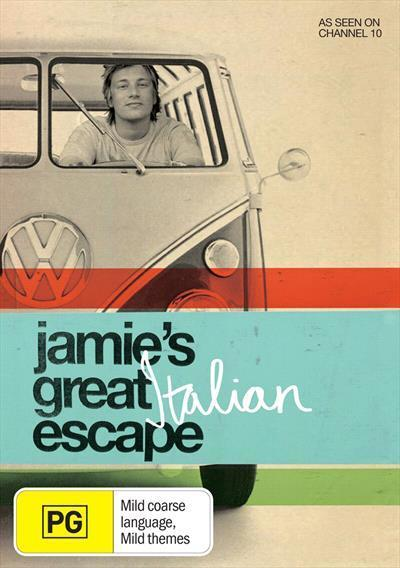 Jamies Great Italian Escape Dvd