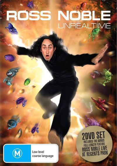 Unreal Time Dvd by Noble Ross