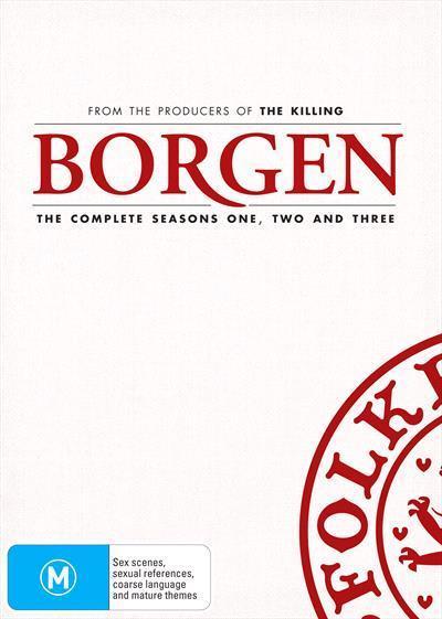 Borgen: Season 1-3Box-set(DVD)