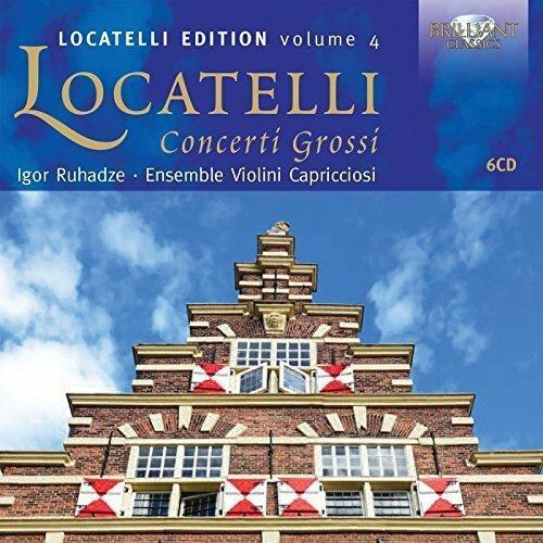 Locatelli: Concerti Grossi (Locatelli EditionVolume4)